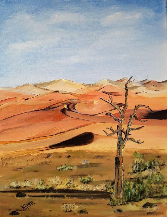 Beautiful desert - Kiranmayee art