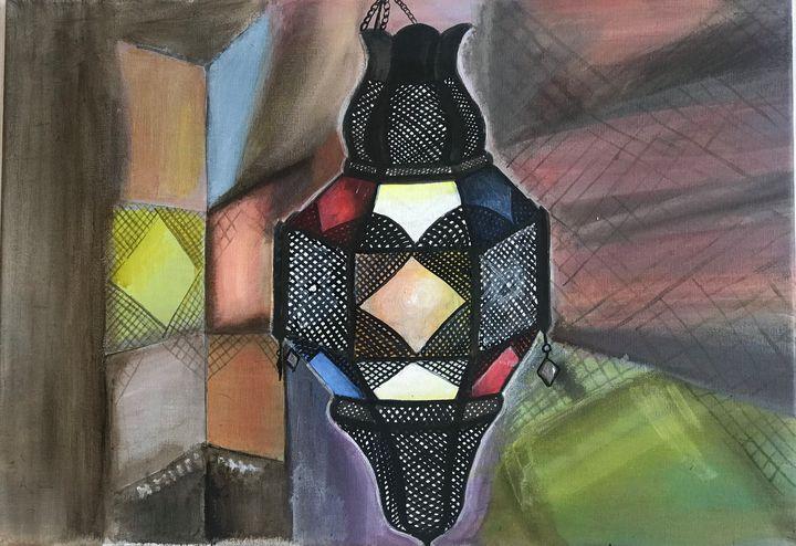 Arabic lamp - Kiranmayee art