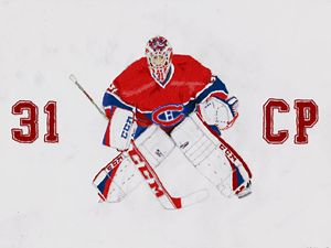 #31 Carey Price Montreal Canadiens