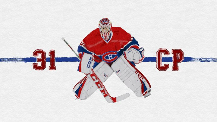 Carey Price #31 - Art by Jack Safford