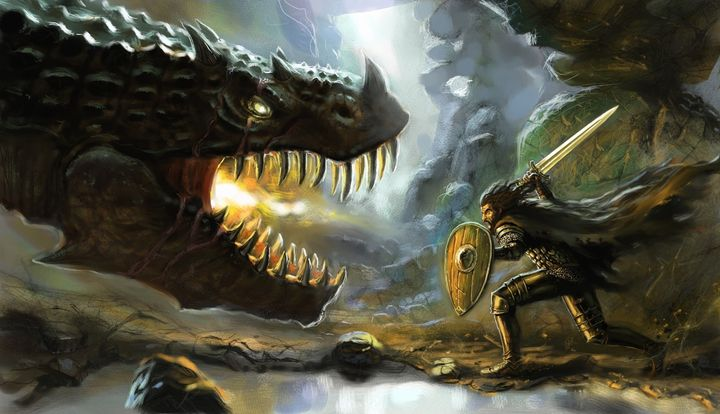 dragoncave - Anthon Bock