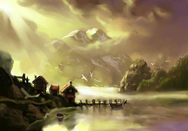 majestic fjord - Anthon Bock