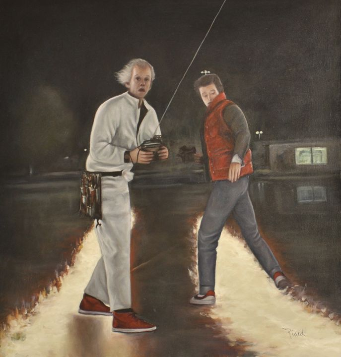 Marty and Doc Brown - Matinee Galeria