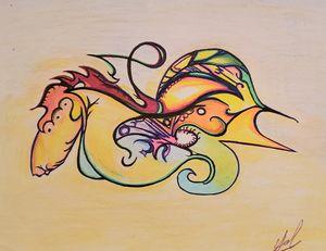 Dancing Sea Horse