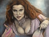 Aleera, oil painting