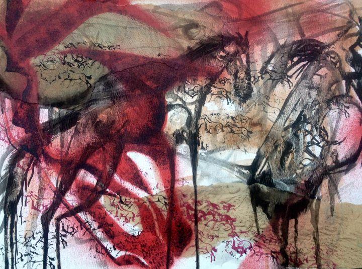 Cave Horses - BLitts