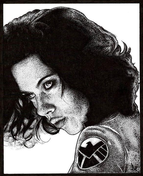 Black Widow - Darren Ross Artist