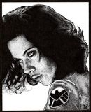 Black Widow Print