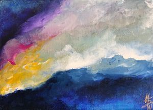 In the Eye of the Storm - Marie Shelly Art Prints