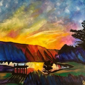 Sun Rises on Potter County - Marie Shelly Art Prints