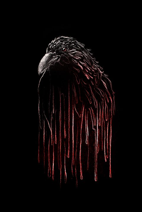 Bloody Crow - Art by Sundeep