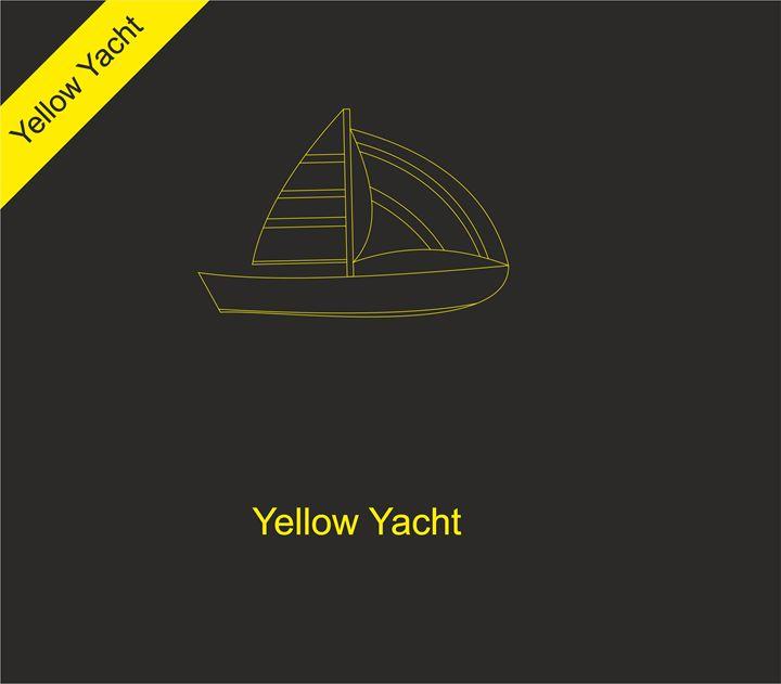 Yellow yacht - goldensky