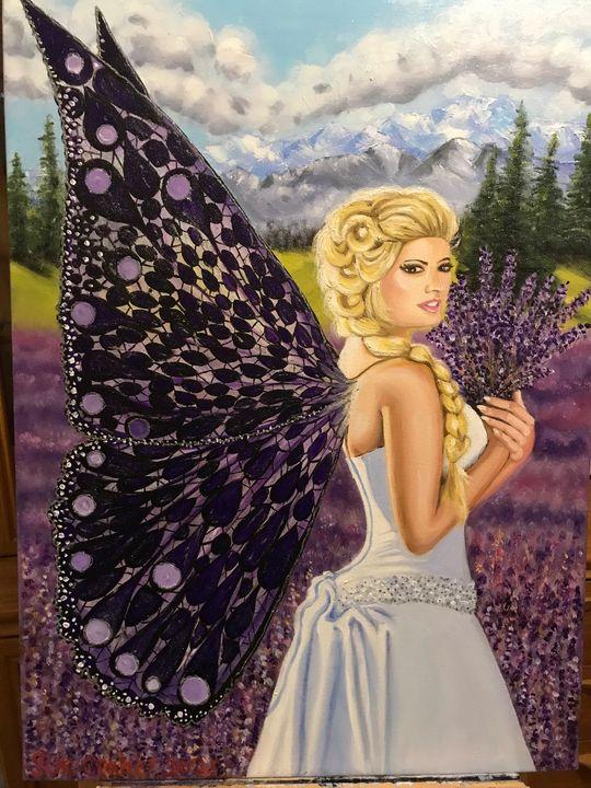 lavender fairy by susan craker - Susan craker
