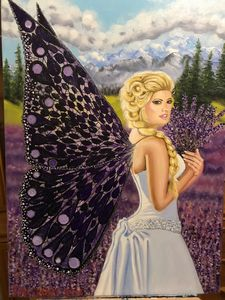 lavender fairy by susan craker