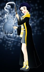 Princess Snow White at Hogwarts