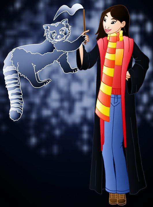 Princess Mulan at Hogwarts - Princess