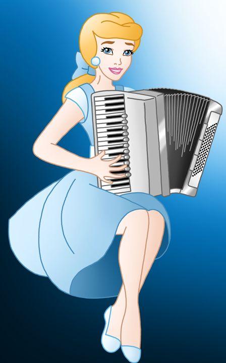 Princess Cinderella With Accordion - Princess