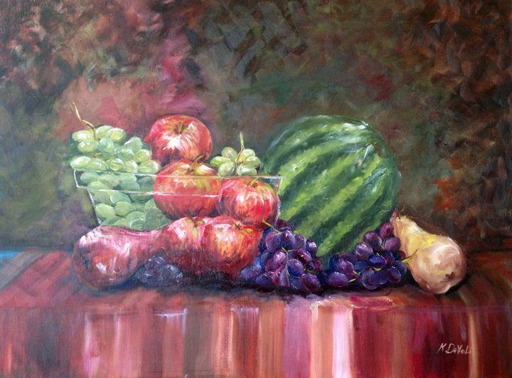 Glass Fruit Bowl - Kate Davoli