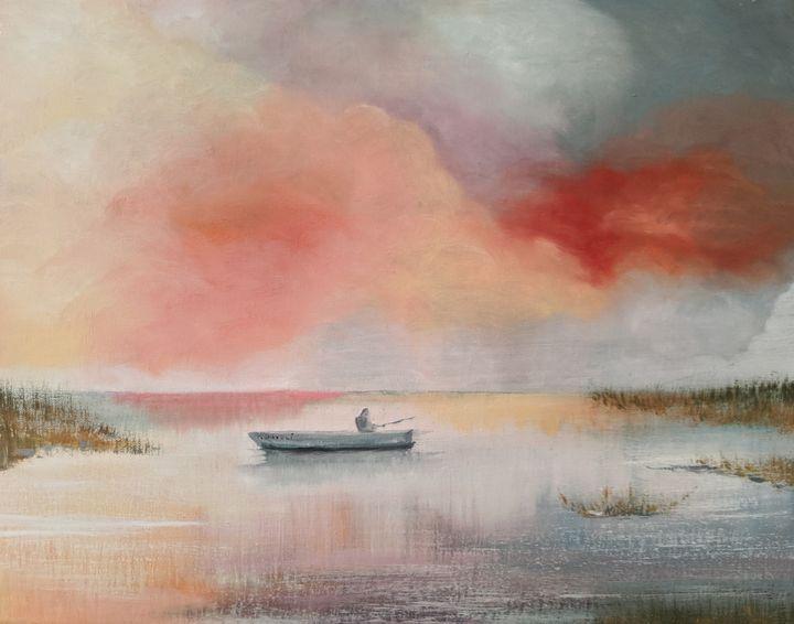 Fisherman's Morning - Kate Davoli