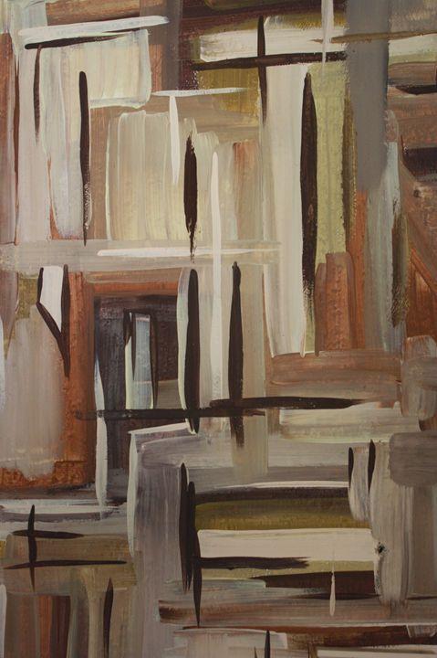 Neutral abstract - Corissa Dean