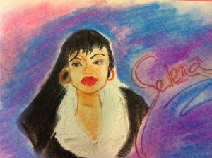Late Singer Selena - Rita Arts Gallery