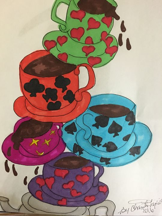 The Balance of the Cups - Rita Arts Gallery
