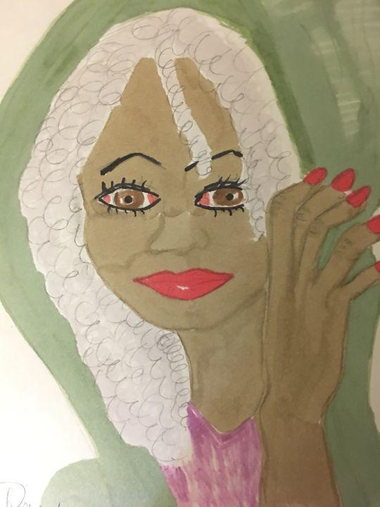 A Lovely Woman - Rita Arts Gallery