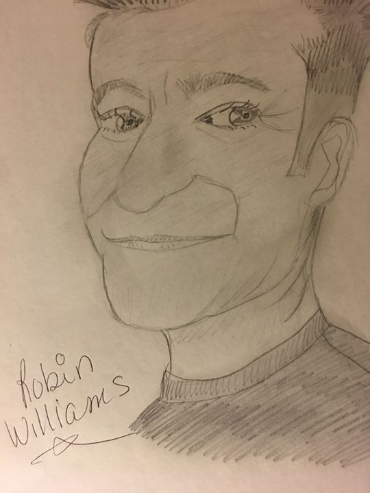 Late Robin Williams - Rita Arts Gallery