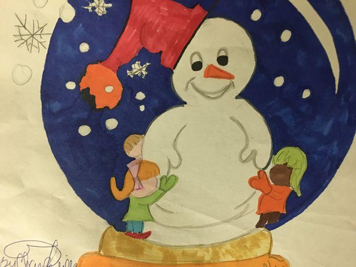 A Snowman - Rita Arts Gallery
