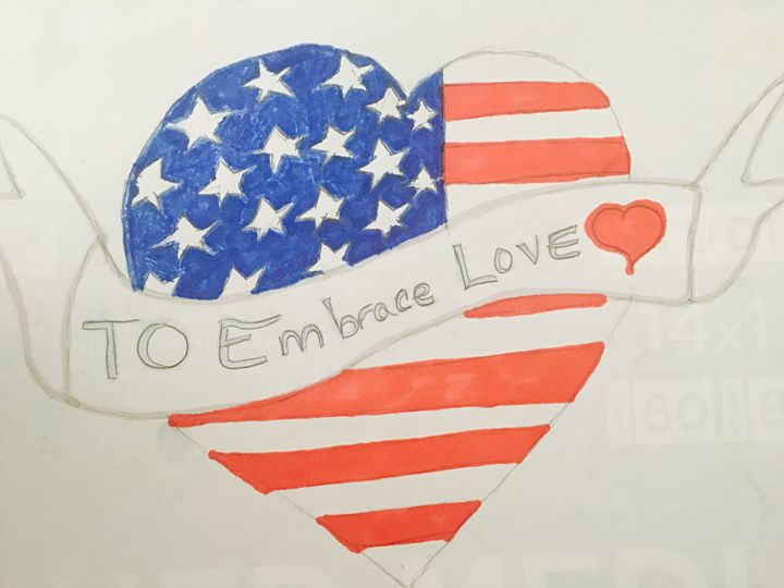 To Embrace Love - Rita Arts Gallery
