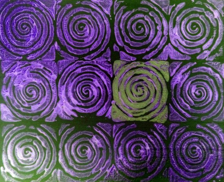 Purple Spirals - Chris Doyle