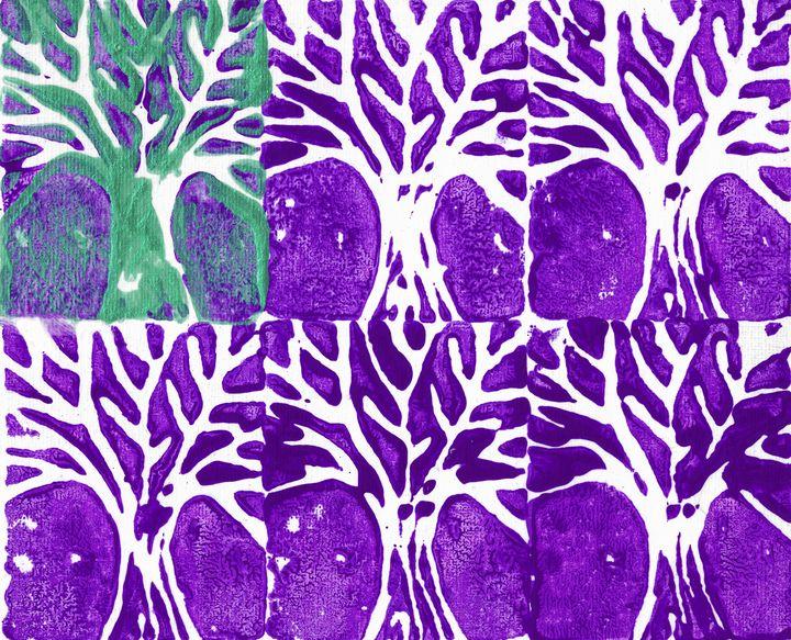 Trees In Purple - Chris Doyle