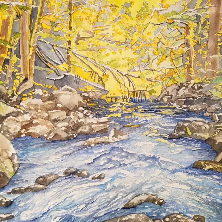 River Scene - Anita Bischoff