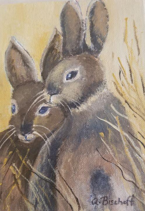 Wild Rabbits - Anita Bischoff