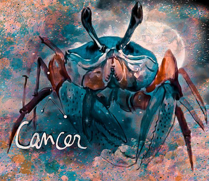 Cancer Zodiac Art - Laurie'sArt111