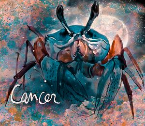 Cancer Zodiac Art
