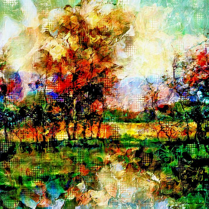 Autumn Abstract Art - Laurie'sArt111