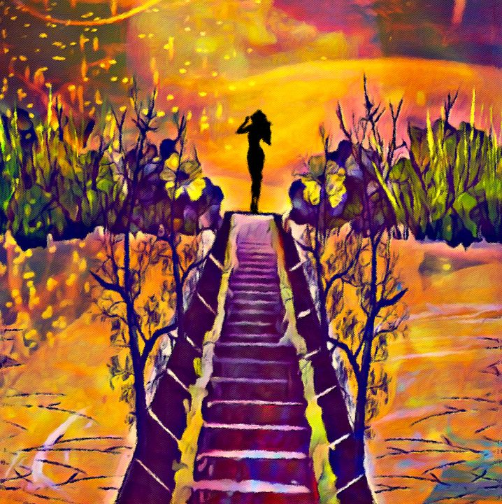 Surrender to the Sunset - Laurie'sArt111