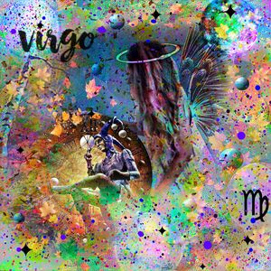 Virgo Zodiac Art
