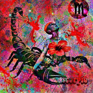 Scorpio Zodiac Art