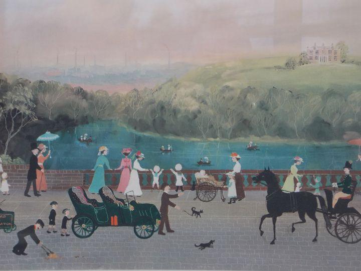 On the Promenade - Hans Baumhardt