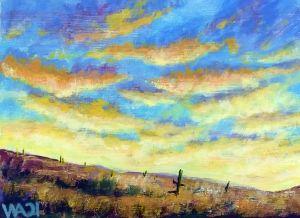 Morning Gold - W. R. Adams Fine Art