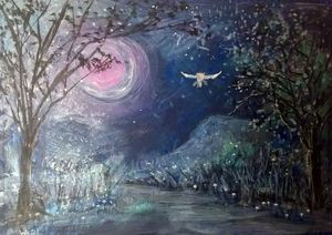 Pink Moon Magic
