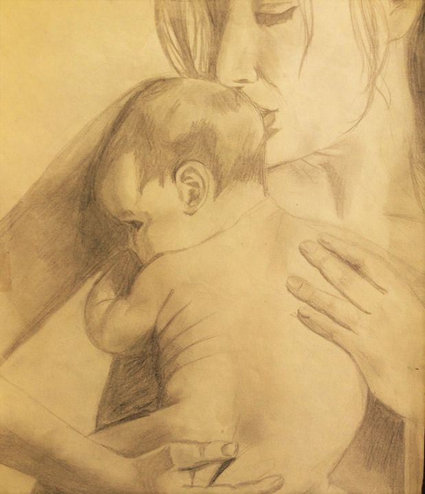 Mother and Child - Jenny Shaykevich