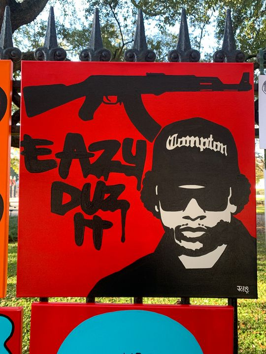 Eazy duz it - Art by James Rall