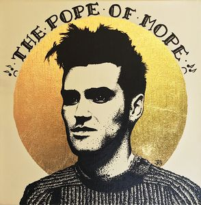 """Morrissey-Pope of mope 8""""x10"""" print"""