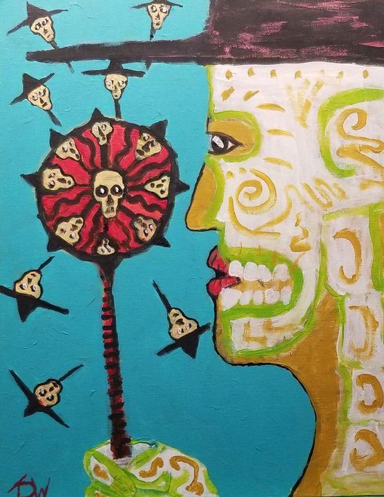 The Windy Underworld - Brain Injured Art by T. D.Woods