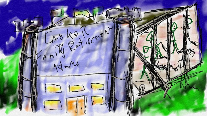 Lasker Family Retirment Home. - ArtPop
