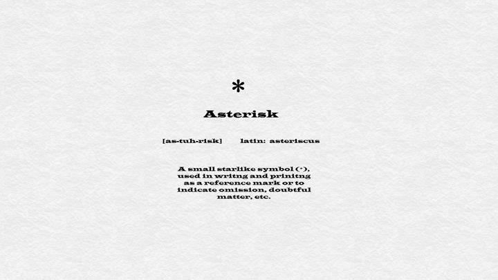 Asterisk - ArtPop