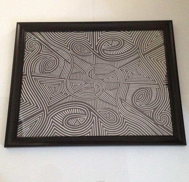 Swirly circles - Kurtis gentile